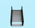 Крышка корпуса с пробивкой окна, жалюзи и сегментной гибкой.