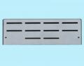 Корпус прибора с пробивкой пазов, отверстий и гибкой.